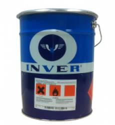 monocomponenti 18965 Smalto nero per alte temperature Inver da 4-20 kg