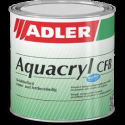 vernici incolori all'acqua Aqua-Cryl CFB Adler da 0,125-0,375-0,750-2,5 l