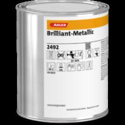 vernici bi-componenti colorate Brilliant-Metallic Adler da 0,9 kg