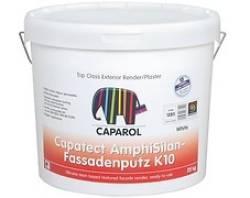 generico idropitture esterni Capatect AmphiSilan-Fassadenputz K10 (FEIN) - K12 - K15 - K20 - K30 - R20 Caparol da 25 kg