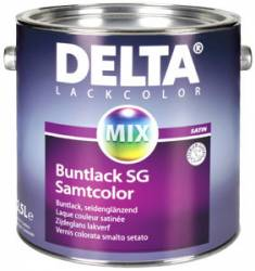 generico smalti a solvente Delta Buntlack SG/Samtcolor CD-Color da 0,375-0,75-1-2,5 l