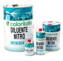 generico solventi Diluente Nitro Antinebbia Coloritalia da 1-5 l