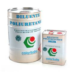 generico solventi Diluente Poliuretanico Delta Coloritalia da 5-25-200 l