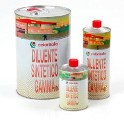 generico solventi Diluente Sintetico Gamma Coloritalia da 1-5-25-200 l