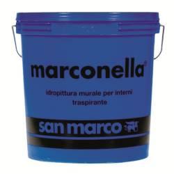 generico idropitture interni Marconella San Marco da 2,50-5-15 l