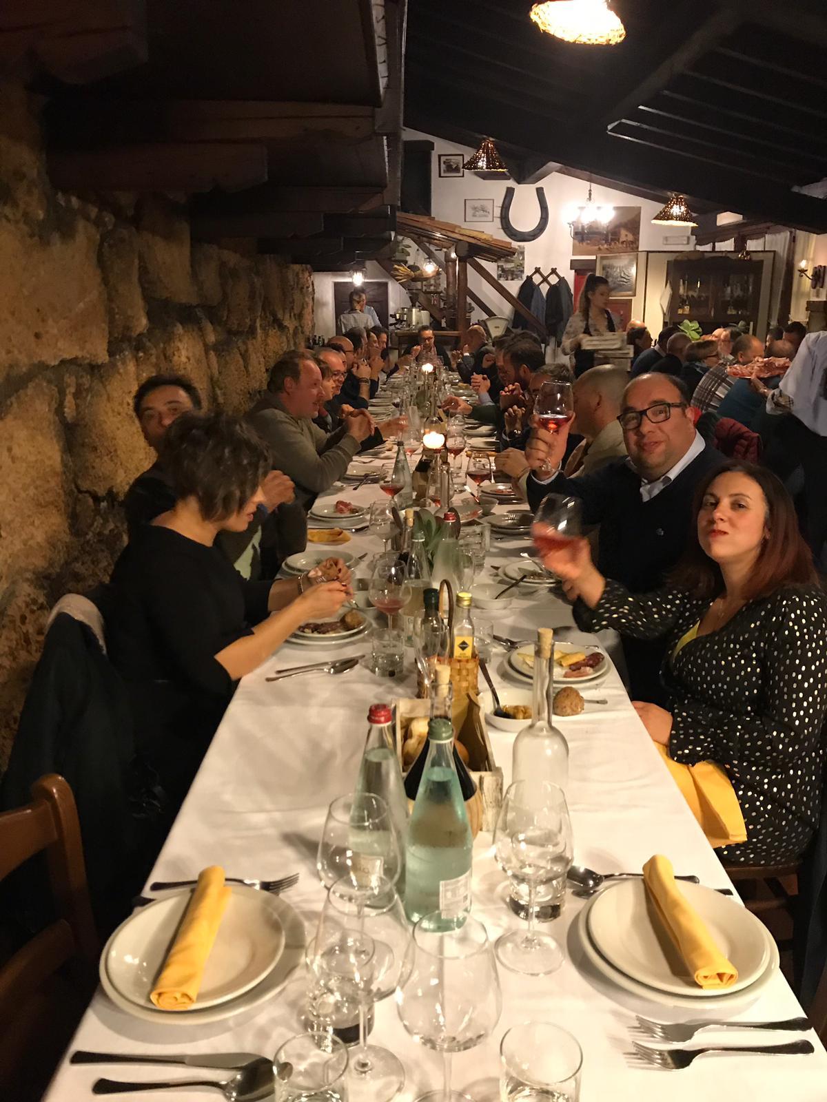 CENA PER I CLIENTI BRECO VR Cena per i clienti Breco VR
