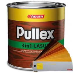 protettivi del legno fondi Pullex 3in1-Lasur Adler da 0,75-2,5-5-10-20 l
