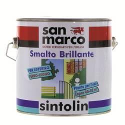 generico smalti a solvente Sintolin San Marco da 0,375-0,75-2,35-2,5 l