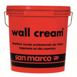 generico idropitture interni Wall cream San Marco da 2,50-5-14-17 l
