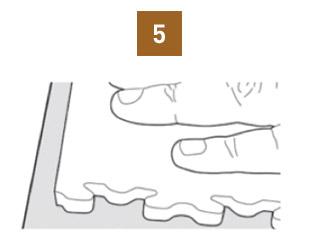 spazio tra piastrelle fortelock