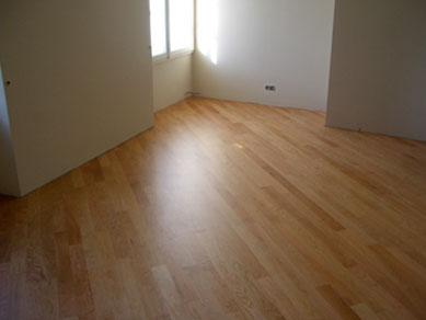 posa in diagonale pavimento in legno